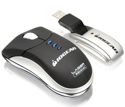 Iogear Germ Free Wireless Laser Mouse
