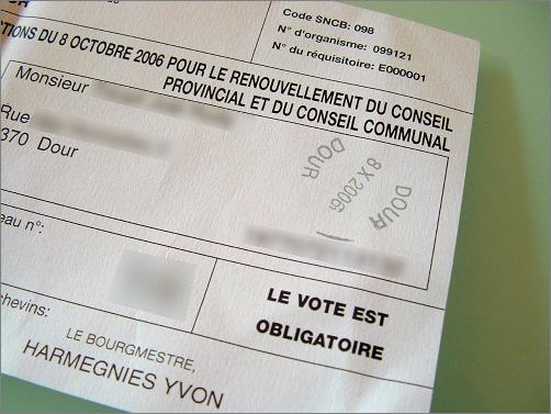 A vot� !