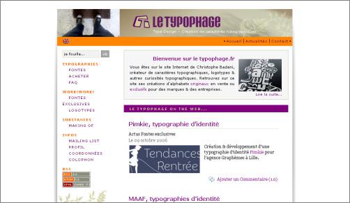 Typophage.fr